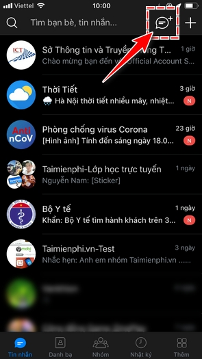 cach tao nhom chat zalo tren android iphone 2