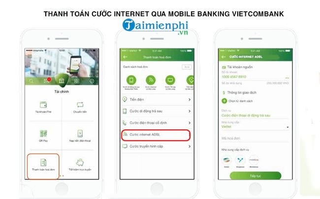 cach thanh toan cuoc internet bang vietcombank 2