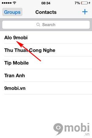 cai nhac chuong cho tung danh ba iphone