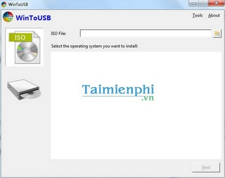 Install Windows XP / 7 running on USB with WinToUSB
