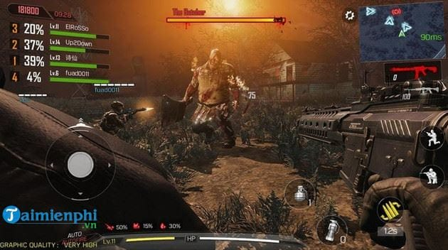 call of duty mobile co che do zombie khong 2