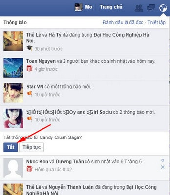 chan cac ung dung tren facebook