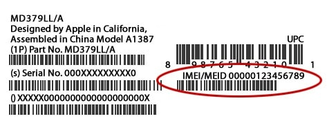 check imei tablet
