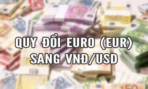 1 euro bao nhieu tien viet