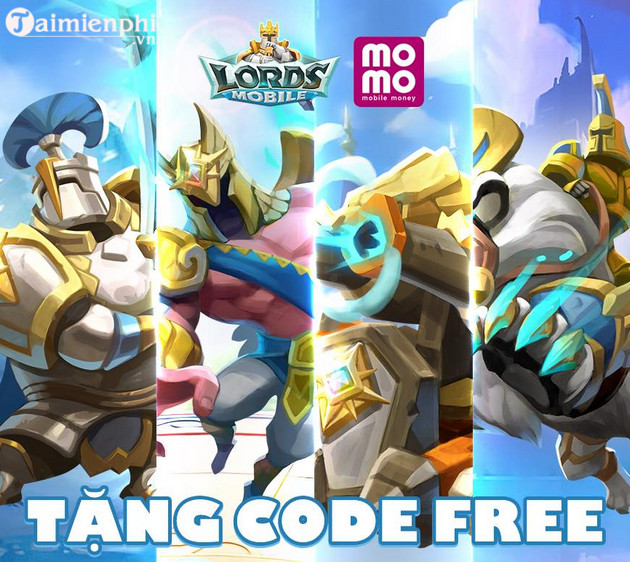 code game lords mobile 2