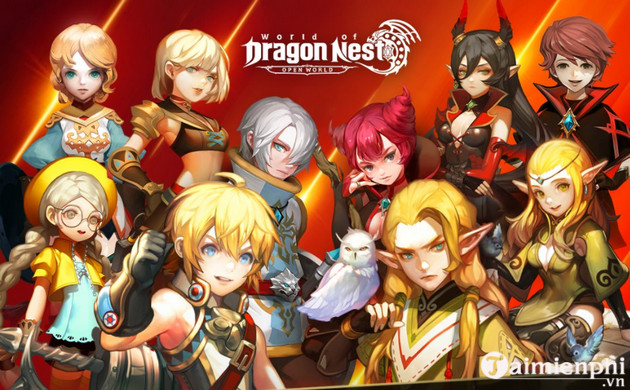 code game world of dragon nest