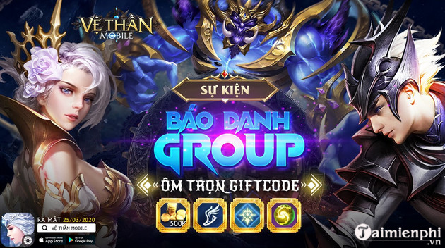 giftcode game ve than mobile