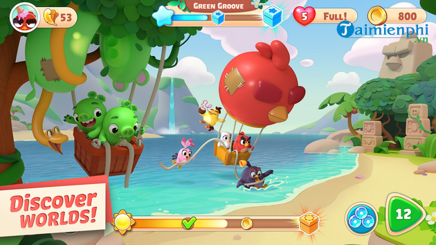 angry birds journey game review