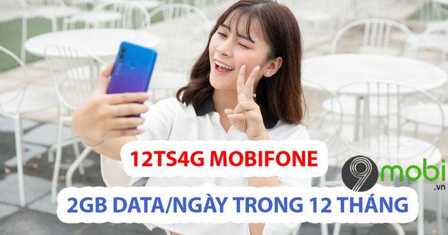 cach dang ky goi data 4g 12ts4g mobifone