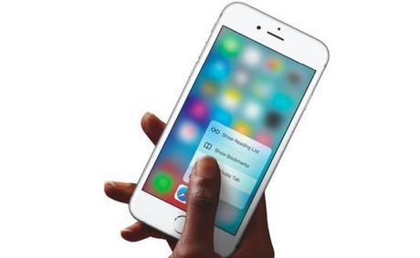 facebook ho tro 3d touch tren iphone 6s