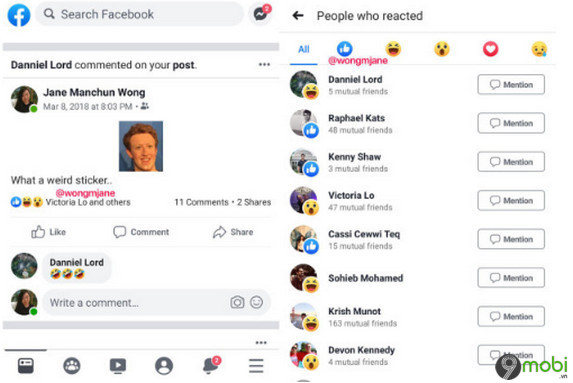 facebook thu nghiem an so luot like tren ung dung android 2