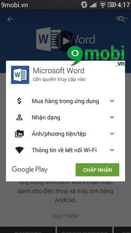doc file word cho android