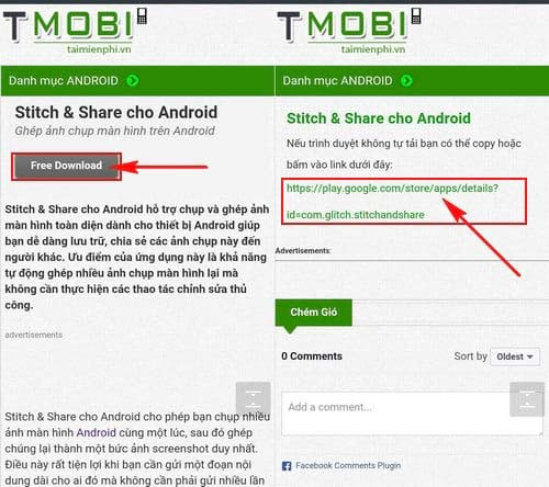 ghep anh chup man hinh thanh mot anh duy nhat cho android 2