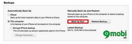 ha cap iphone iOS 9.2.1 xuong iOS 9.2