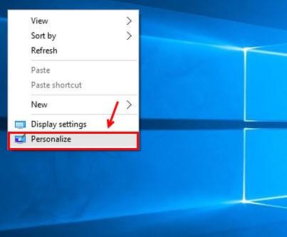 Hiển thị My Computer trên desktop Windows 10 2