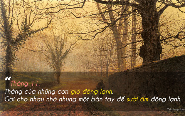 hinh anh chao thang 11 lam stt 2