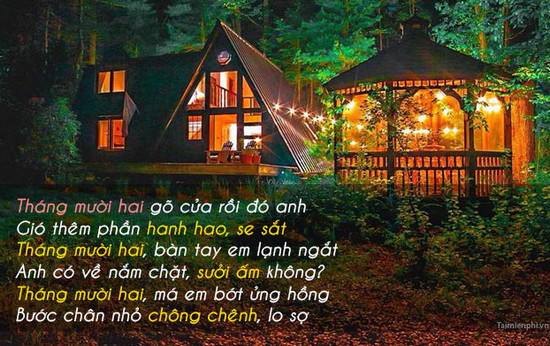 hinh anh chao thang 12 lam stt 2