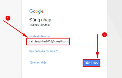 hop thu gmail cach mo nhan gui mail trong gmail