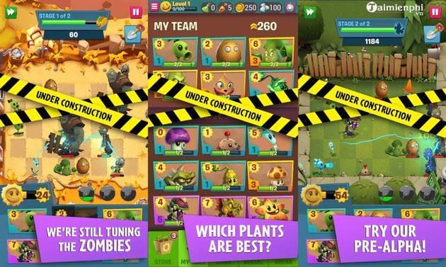huong dan choi ban thu nghiem plants vs zombies 3 ngay bay gio 2