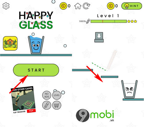 huong dan choi happy glass tren android iphone 2
