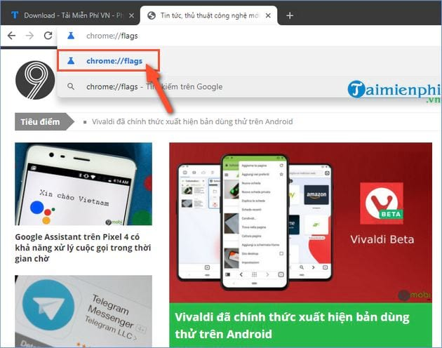 huong dan kich hoat tinh nang tab preview tren google chrome 2