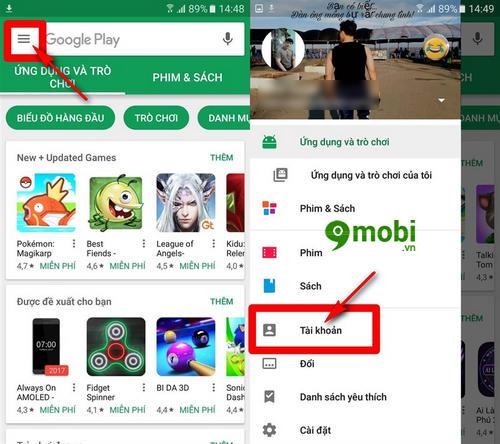 huong dan mua ung dung ch play bang tai khoan mobifone 2