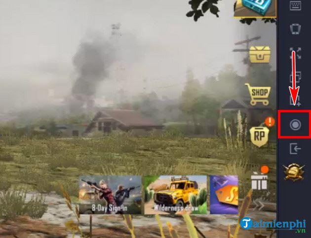 huong dan quay video man hinh pubg mobile tren gameloop 2