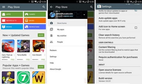 cai dat google play store moi