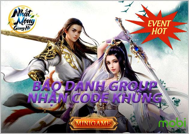 giftcode game nhat mong giang ho