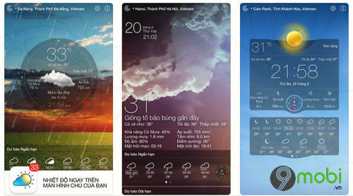 weather live ung dung du bao thoi tiet cho android iphone