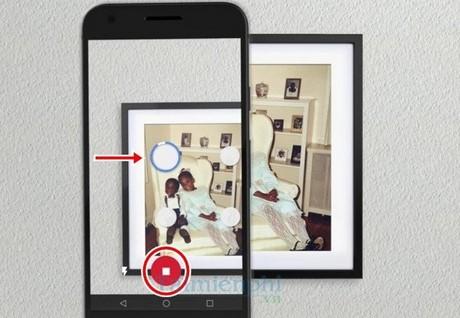 scan him on smartphone