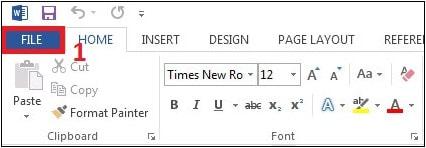 List Word – PPhục hồi văn bản lỗi trong Word 2013