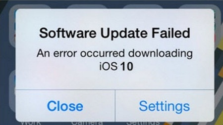 khac phuc loi software update failed