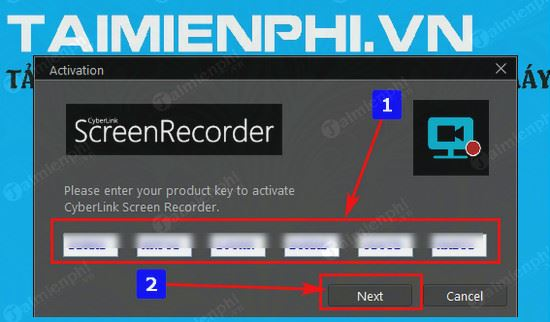 giveaway ban quyen mien phi cyberlink screen recorder 2 2