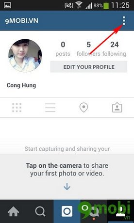 luu anh chat luong cao tren Instagram