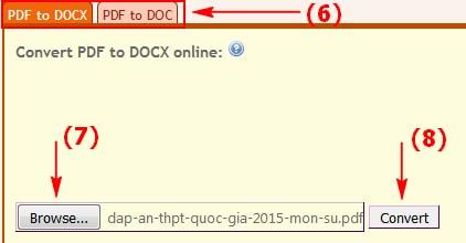 Chuyển PDF dạng ảnh sang Word, text không bị lỗi Font chữ 2