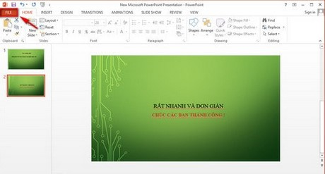 trich xuat noi dung tu PowerPoint sang Word