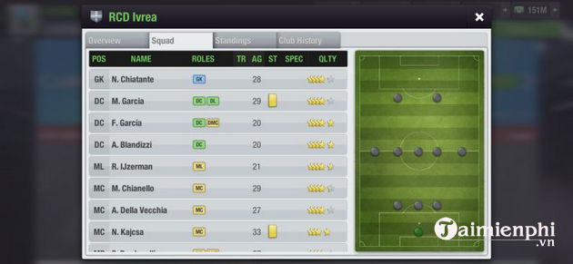 meo choi game top eleven 2021 cho nguoi moi