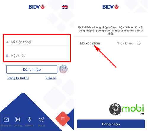 Mở tài khoản tiết kiệm trực tuyến BIDV