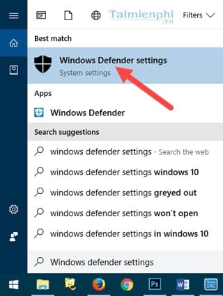 huong dan bat tat thong bao windows defender tren windows 10 2