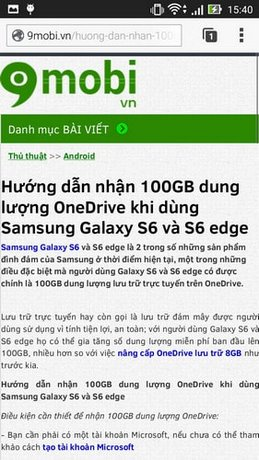 chạn quang cao khi duyet web android