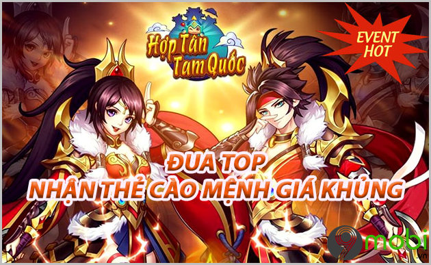 giftcode game hop tan tam quoc