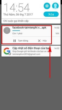 Cách cài Facebook trên Zenfone 5, 3, 2