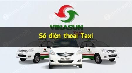 so dien thoai taxi vinasun hcm binh duong da nang vung tau dong nai