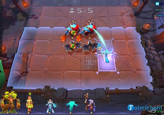 so sanh game dota underlords va auto chess mobile 2