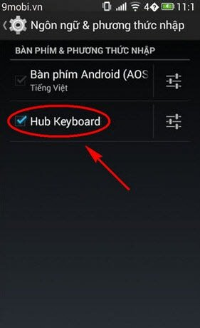cach su dung hub keyboard tren samsung