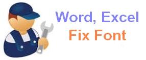 the standard font editing Unikey