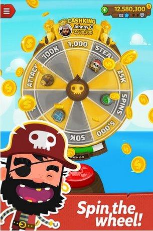 Tai Game Pirate Kings cho iPhone