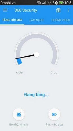 tang toc Android