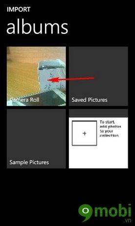 lam anh den trang tren Windows Phone